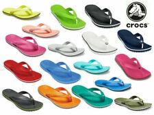 Crocs Crocband Flip Flops Unisex Lightweight Croslite Sporty Toe Post Sandals