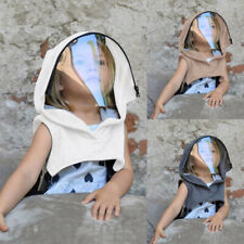 Full Protective Face Wear Clear Hooded Hat Child Face Shield Reusable Removable