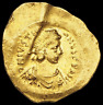 Justinian I, AD 527-565, Gold Tremissis, Victory