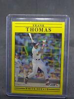 1991 Fleer Baseball Card #138 Frank Thomas beautiful example white sox