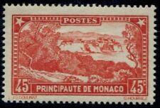 Lot N°5064 Monaco Rouge Brique N°123a Neuf * Qualité TB
