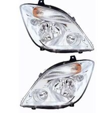 *NEW* HEAD LIGHT LAMP PAIR W/O FOG LIGHT for MERCEDES BENZ SPRINTER 2006 - 2013