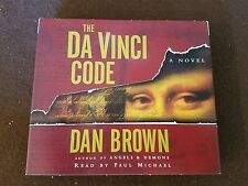 The Da Vinci Code: Novel on 5 CDs 6 Hour Audio Book Read by Colin Stinton