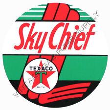 "Texaco Sky Chief 9"" Vinyl Decal (DC179E)"