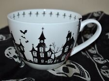 PORTOBELLO by INSPIRE MUG/CUP TRICK or TREAT Halloween HAUNTED HOUSES Bat