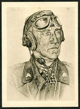 Artist Signed WOLFGANG WILLRICH  12  GERMANY  THIRD REICH  MILITARY  Postcard