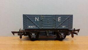 Old Tri-Ang England Railway Wagon Model - N E Wagon 83670 12T