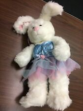 Build A Bear Bunny Rabbit Plush W/ Fairy Outfit & Wings EUC Rare 18 In Pre Owned