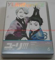 New Yuri on Ice Vol.6 First Limited Edition Blu-ray Booklet Coloring Book Japan