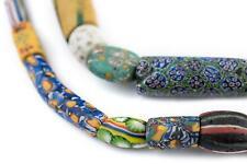 Premium Antique Venetian Mixed Trade Beads 13mm Ghana African Multicolor Glass