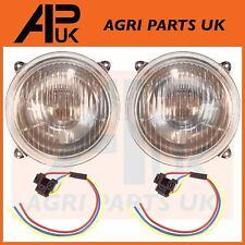 2X massey ferguson tracteur tête lumière lampe set série 100 200 500 600 & bouchons
