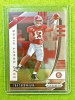 TUA TAGOVAILOA PRIZM ROOKIE CARD JERSEY #13 ALABAMA RC 2020 Prizm Draft Picks rc
