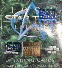 1994 Star Trek Skybox Master Series Trading Cards Factory Sealed Box