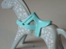 Playmobil Saddle Blue Cyan, FARM, KNIGHTS ROMANS Powerhouse Horse (344)