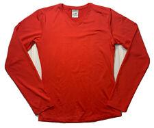 marika activewear top size L red