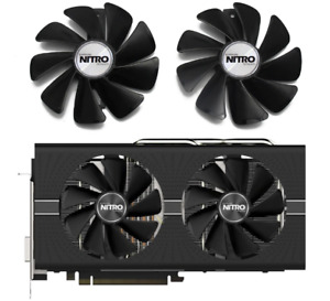 Fan For Sapphire NITRO RX 480 470 570 580 RX470 RX480 RX570 RX580 NEW HQ Cooling