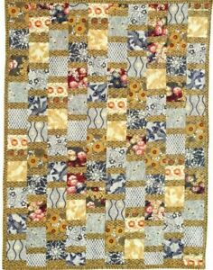 Harmony Flower Quilt Pattern Pieced JH