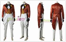 Gotham The Joker Jerome Valeska Cosplay Costume Orange Jacket Full Set Uniform