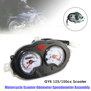 1×Motorcycle Scooter Odometer Meter Speedometer Assembly Instrument Gauge 150cc