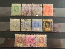 1807 SIERRA LEONE SC# 122-131 +123A  (SG 131-140+132A) USED    CAT $40+