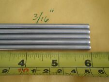 """10 PCS. STAINLESS STEEL ROUND ROD 304, 3/16"""" (.192"""") (4.88MM.) X 6"""" LONG"""