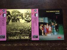 THE SAVAGE ROSE-TRAVELIN 'et dans The Plain Japon UICY 9469/9470 reconditionnés CD