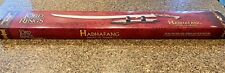 Lord of the Rings Hadhafang: Sword of Arwen United Cutlery Uc 1298 Coa used