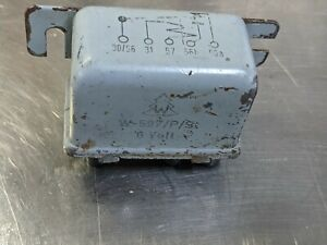 Porsche 356 Wehrle W-597/P/St 6V Headlight Relay NO RESERVE