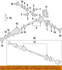 NISSAN OEM Rear-Axle Seal 3834240P00