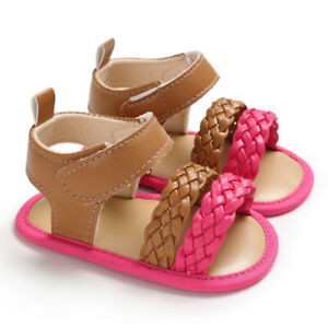 New Arrival Fashion Baby Girl Crib Shoes Infant Child Summer Sandals Size 1 2 3