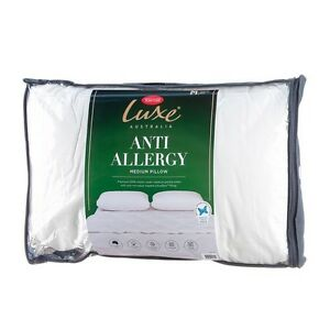Tontine Luxe Anti Allergy Low Profile & Soft Feel Pillow RRP $39.95