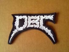 DBC,EW ON EMBROIDERED PATCH