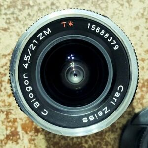 Zeiss ZM 21mm f/4.5 C Biogon T* Ultra Wide Angle Lens in Leica M Mount