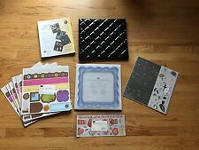 "New ""Creative Memories"" Scrapbooking Supplies & One Pre-owned Album"