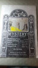 Edward Gorey MYSTERY! poster from PBS series w/ host Gene Shalit for WGBH Boston