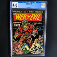 WEB of EVIL #19 (Quality Comics 1954) 💥 CGC 4.0 OW-W 💥 ONLY 7 in CENSUS!