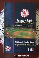 Fenway Park America's Most Beloved Park A Ballpark Pop-up Book 2009 MLB