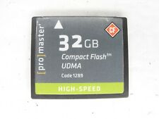 ProMaster High Speed UDMA 32GB CF Compact Flash Camera Memory Card