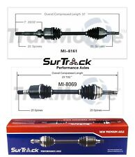 Dodge Plymouth Colt 4WD 1985-1991 2.0L Pair of Front CV Axle Shafts SurTrack Set