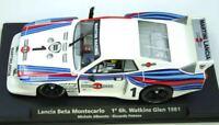 GB30 FLY CAR MODEL Lancia Beta Montecarlo Martini 6hr Watkins Glen 1/32 slot car