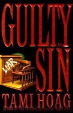 Guilty As Sin by Tami Hoag (1996, Hardcover)