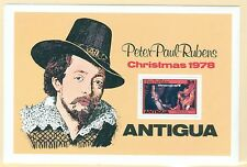 Antiqua 527 Rubens souvenir sheet Christmas 1978  MNH