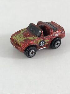 Micro Machines Pontiac Trans Am #8 Super Sparkler Collectible Red