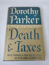 New listing Death & Taxes Dorothy Parker 1939 Sun Dial Edition