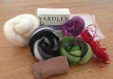 Unique Art Felted Soap Kit With instructions.