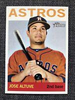 Jose Altuve - Astros - 2013 Topps Heritage SP #487 - Rare SP - Mint Possible Gem
