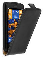 mumbi Leder Tasche Flip Case für Nokia Lumia 630 635 Hülle Schutzhülle Wallet