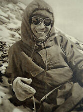 Mount Everest Swiss Expedition Sherpa Tensing 1952 3 Page Photo Article 7874