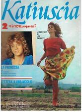 KATIUSCIA_2 FOTOROMANZI_Gennaio 1980_1) LA PROMESSA_2) LETTERA A UNA MOGLIE