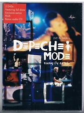 DEPECHE MODE TOURING THE ANGEL VIVRE MILAN 2 DVD + CD F.C. FERMÉ